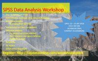 seminar kelas bengkel kursus statistical package SPSS dan analisa data